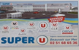 SUPER U BEAUVOIR SUR MER